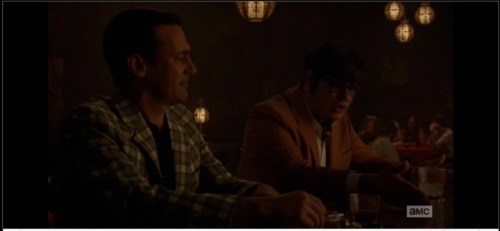 My second Mad Men background appearance. I'm the blob in the middle of the group behind Harry. Smoking again. But I got to go the entire day braless because of the early 70s or whatever. I got paid to be a feminist. I love Los Angeles.