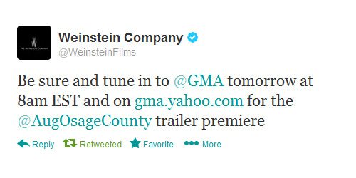 coconutmilk83:  TOMORROW: August: Osage County Trailer!!!