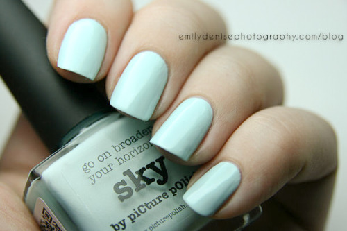 piCture pOlish Sky now up on the blog! Absolutely love this shade!
