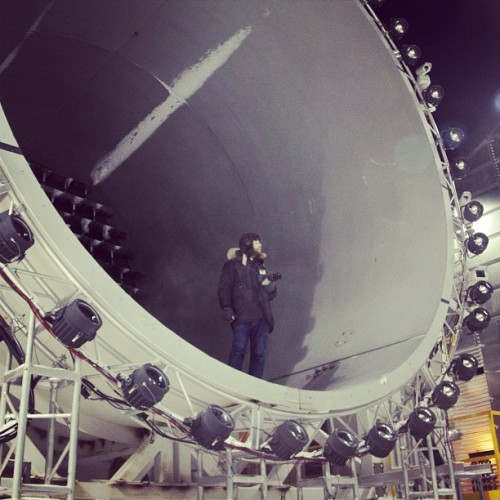 generalelectric:  From last night's visit - @noahkalina shooting the GEnx #engine from the ice generating chamber at #GE #Aviation in #Winnipeg. #avgeek #technology #manufacturing #Canada  C'MON WHAT IS THIS TUMBLR WHY IS IT SO GOOD