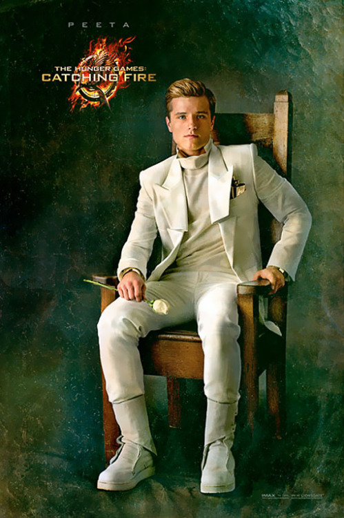 'The Hunger Games: Catching Fire': See Peeta's new look and more Capitol portraits.  Click here to see the gallery…
