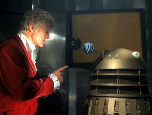 ilwinsgarden:  Bad, bad Dalek! Now go to your room and think about what you've done!
