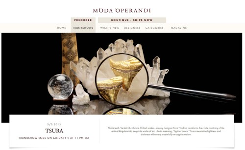Shop Tsura fine jewelry at Moda Operandi!