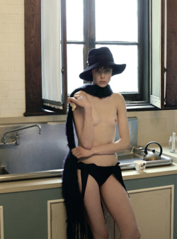 Edie Campbell by Steven Meisel for Vogue Italia