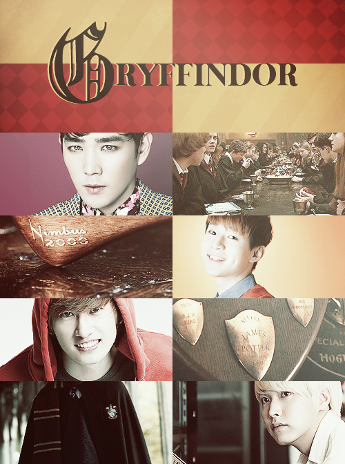 Super Junior x Hogwarts Houses » Gryffindor