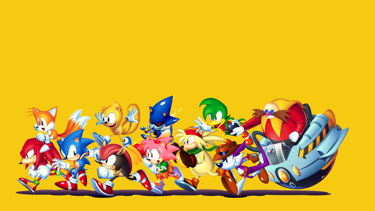 Here S A Nice Wallpaper Of Every Classic Character