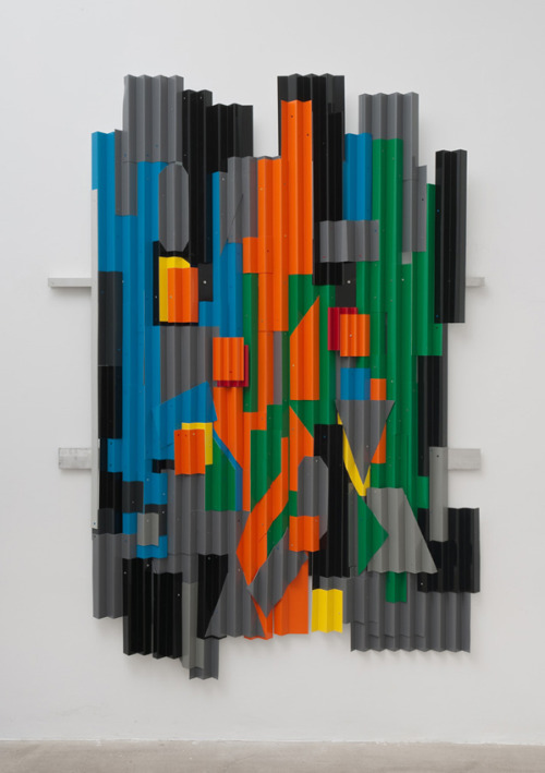 Jason Meadows, 'Jimmy Clyfford Still', 2012. Folded aluminum 86 x 60 x 2.5 inches.