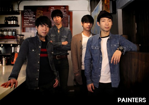 "Korea Rock Band ""painters"""