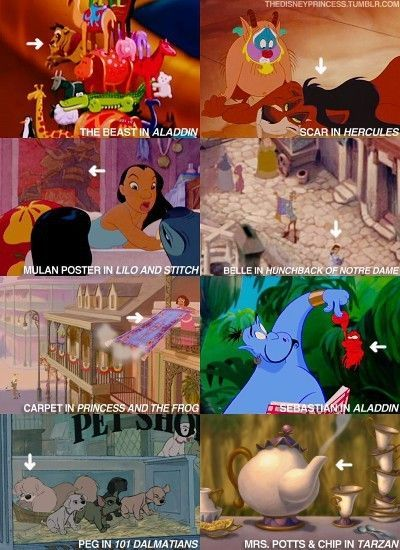 Have you ever noticed these hidden Disney characters in other Disney movies? #3 will shock you! Check these out: