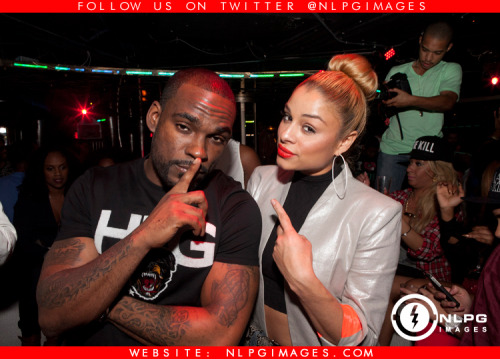 "DJ Stevie J and Simply Jess at his birthday celebration at Arkadia. http://bit.ly/112wQn7 - NLPGimages.com ""We're Everywhere You're Not"""