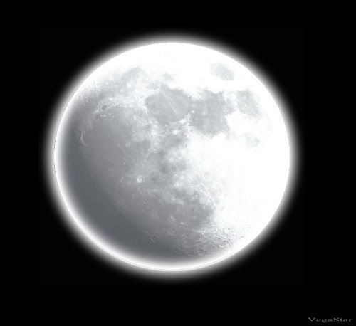 "Fact: It takes the moon approximately 27 days (29 to make the full cycle) to make a revolution around the Earth. In the context of astronomy, a revolution is the motion of one body around another (like that of the moon revolving around the Earth). In many time zones, today, January 27th 2013 marks one such revolution.     As the days go by, the moon will start to look different every day.      The main phases of the moon are the New Moon, Full Moon, First Quarter, and Third Quarter.  The New Moon begins at the start of each month while the Full Moon happens near the end of the month.  The New Moon happens because the moon eventually orbits in between the earth and the sun.  This is called the ""dark"" side of the moon.      The Full Moon means that the ""light"" side of the moon is visible to earth. When you see only half of the moon, you are usually seeing the first and third quarter moon phase.  When the moon is at a 90 degree angle and is at the point where the sunlight shines in the side of the moon. This creates a half-moon.      The rest of the different phases are called the crescent and gibbous.  To make it easier to figure out which is which, crescent and gibbous also get either waxing or waning.  Waxing means that the moon is getting brighter while waning means that the moon is getting darker.   Image Credit: Vegastar Carpentier"