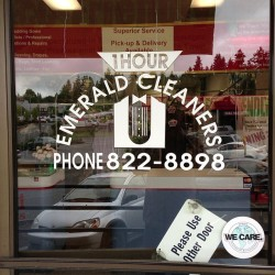 at Emerald 1hr Cleaners