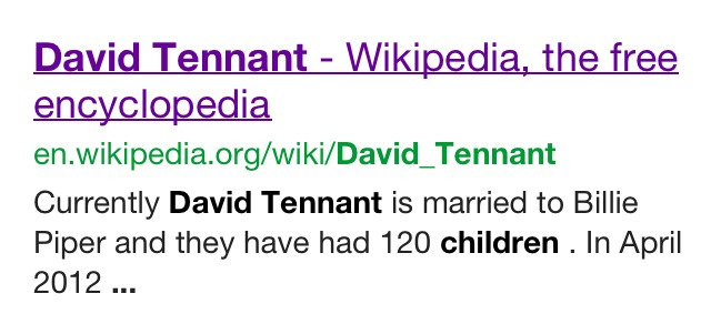 laughterlovelivefreeandsing:   Alright guys…who edited David's Wikipedia page…..