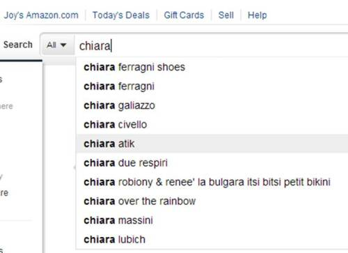 "Chiara is totally more popular than that loser ""Chiara due Respiri."""