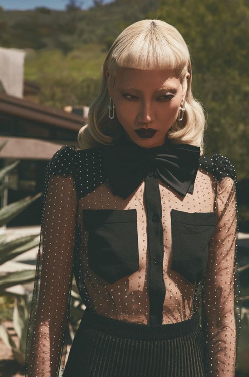 leah-cultice:Soo Joo Park by Jack Waterlot for Numero Tokyo June 2018