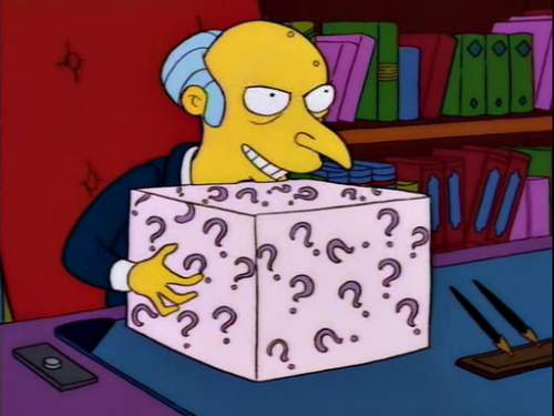 "eyeonspringfield:  ""The box! The box!"""