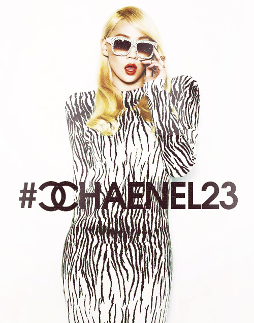 Don't forget to trend #CHAENEL23 at 12AM KST