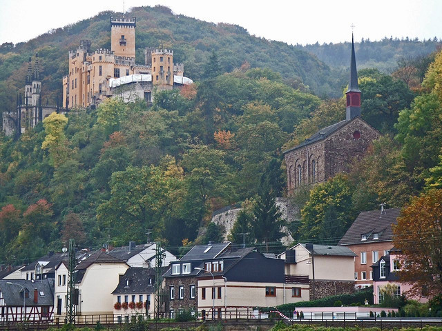 | ♕ |  Romantic Rhine - Stolzenfels Castle  | by © Bill Barber