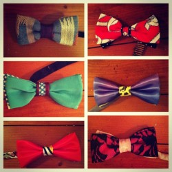 Bowties on deck! Hit me for inquiries :D