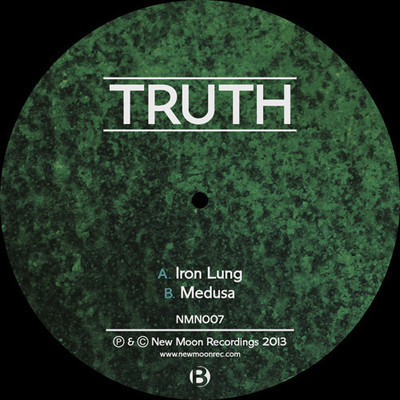 Truth - 'Iron Lung' / 'Medusa' [NMN007] 'Iron Lung' welcomes the listener with pads and atmospherics reminiscent of an artificial ecstasy, an existence which is soon disturbed by the sharp, mechanical growls that cut through the mix. The Iron Lung is alive and ready to unwind.  The drop is as heavy and calculated as the machinery behind it. The menacing kick beats with each breath of weight exhaled by the low end. Crisp hats and a piercing snare add life in perfect complement to the immense pressure beneath. A morphing midrange whirrs behind the scenes, driving the rest of the elements along with its familiar revolutions. The fleeting groans and returning atmosphere flow perfectly alongside a distant vocal, which serve to add a human characteristic to the surrounding machine. At this point, the depth of production is undeniable. The percussive additions drive the pace through the break as new mechanisms go to work at the heart of this tune. Surrounded by atmosphere, the machine methodically slows to halt.   This lull is short-lived, as the Iron Lung quickly churns back to life with a newfound energy characterized by additional midrange elements. This second drop carries just as much power as the first, holding the pace of the tune steady amidst the heightening emotion that carries the listener to its conclusion.  From the start, a curious seduction beckons the listener to continue forward towards the drop. Sparse percussion cuts through the dark atmosphere to warn of an impending danger… A danger which can no longer be resisted once Medusa's playful voice invites the listener into her lair. There is no turning back.  The drop carries the full weight of Medusa's glance, as her eyes reach deeper into her guest's soul with each hit of the icy snare. Beneath, a slow growl works to freeze the listener until a shuddering flute signals this tune's truly dark intentions. Surrounded by a menacing atmosphere, eerily comforting chimes enter the high end of the mix as listeners come to terms with their unavoidable fate.   The growls intensify until time is frozen around Medusa's cold stare. Percussion floats through the atmosphere until her voice once again calls the tune back to life.  The second drop draws the listener yet further into the mix with its weighty grip. A tense combination of percussion and bass carry the tune to an exit characterized by one final wave of heightened atmosphere. Out to Truth on this large release. Not to be missed! - http://www.junodownload.com/products/truth-iron-lung/2162210-02/ - - http://www.chemical-records.co.uk/sc/servlet/Info?Track=NMN007 - - Drooka -