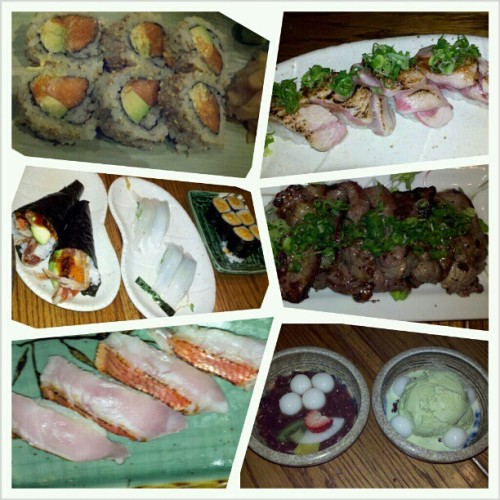Boss took us to dinner at Gaku. OMG best sushi hands down. This isn't everything we ate, I just forgot to take pictures of the first few dishes. #grateful