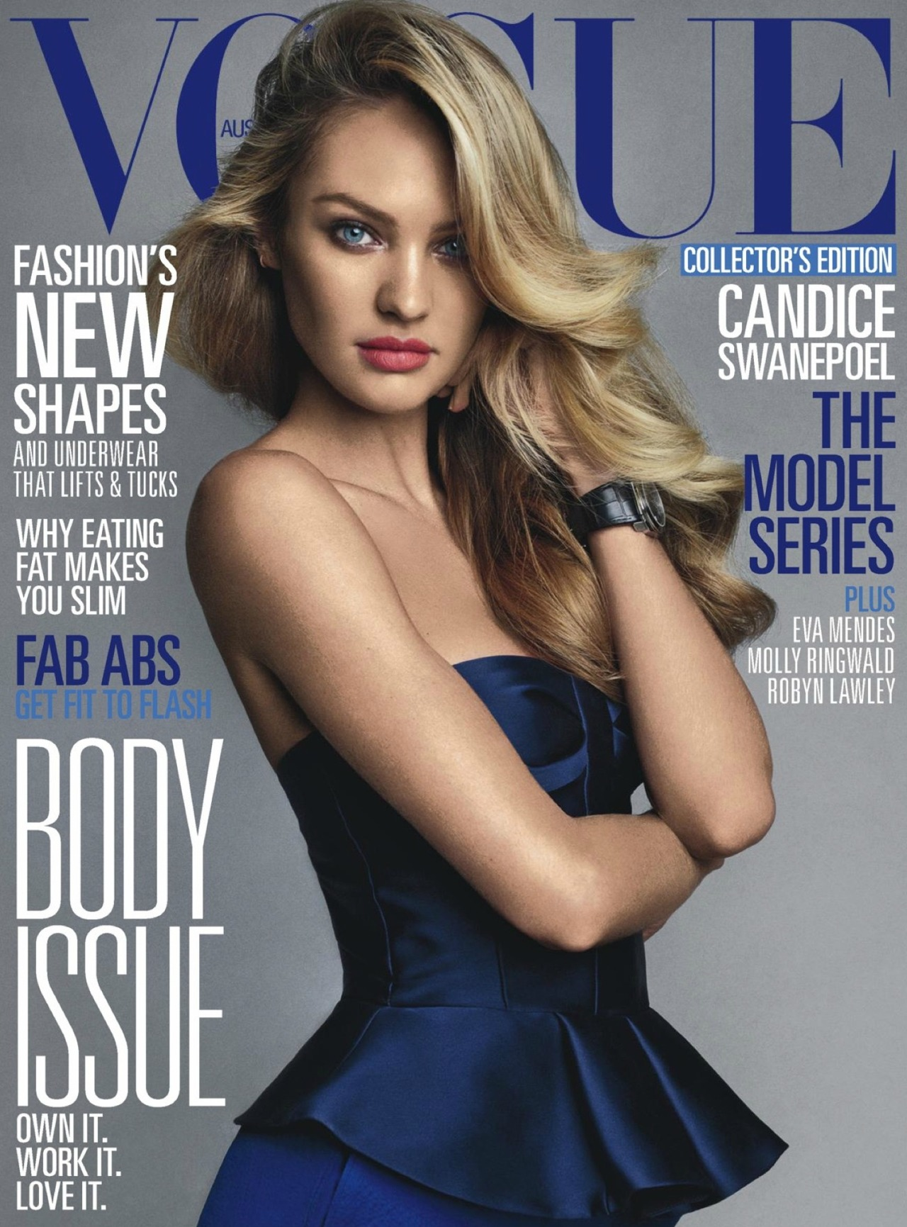 Candice Swanepoel for Vogue Australia