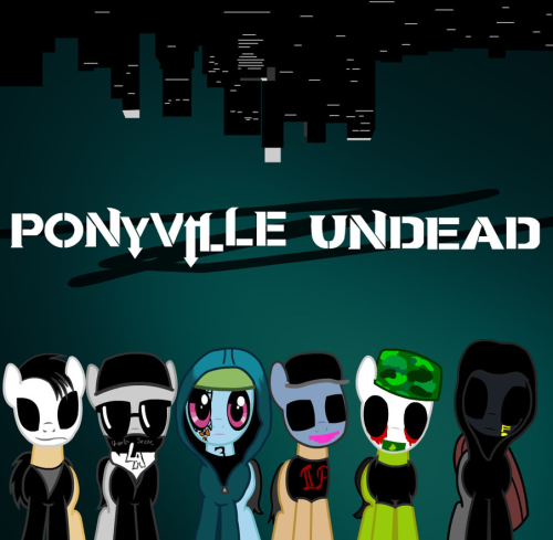 the-rose-in-wonderland:  Ponyville Undead