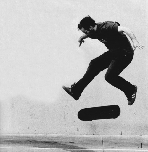 "Skateboarding is real fun  alfredk:  ""Skateboarding is more a part of my life than I had ever realized. I quit and didn't have anything at all to do with skateboarding for nearly 10 years—then one day, how important it is it all came back and hit me. It's defined so much of my life and my thinking. I wouldn't be who I am without skateboarding and I feel privileged to have been a pro skateboarder."" -Jason Lee"
