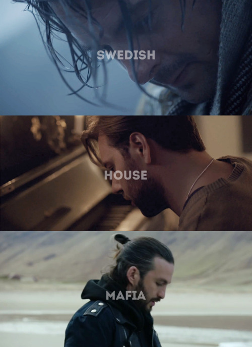"themaroonrepublic:  ""Leave The World Behind""  Starring: Swedish House Mafia."