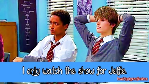 """I only watch the show for Jelfie."""
