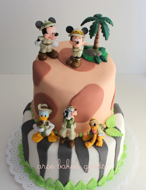 Disney Safari (by arce baked goods)