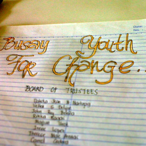 #BYFC #Busay #YouthoftodayandForever #MoveForwardforaChange  (Photo taken and uploaded via MOLOME )
