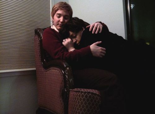 From some of my archives. Mrs. Hudson found us like this after a particularly long case— Sherlock passed out on me (for once), and I was entirely too tired and relaxed to really care. I could go on about it, how she made a big production over how we looked, how much I protested over the fact two grown men are anything but adorable, but… I like it. This. Moments like this ground me, and I like them just as much as when we're busy with work.  [SH + JW] [30 days - Day 2 - Cuddling Somewhere]