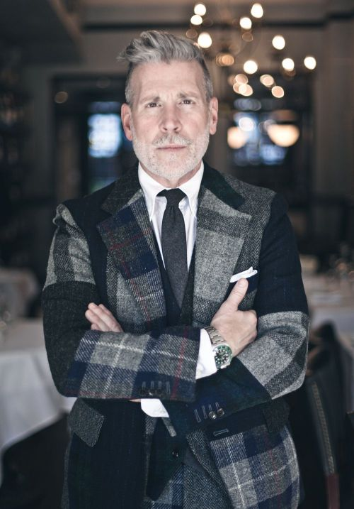Nick Wooster:  Getting dressed for me is like a window to my soul.  Source: storyboard