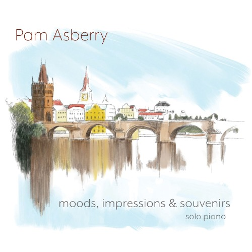 Pam Asberry has released a new solo piano album: Moods, Impressions & Souvenirs (2020). It has her own romantic piano touch by Zdenek Fibich's classical work. She has caught hold of romantic moments for your music listening. https://www.amazon.com/Moods-Impressions-Souvenirs-Pam-Asberry/dp/B084MJSJ2Z/ #PamAsberry#Moods#solopiano#romantic#ZdenekFibich#newagemusic