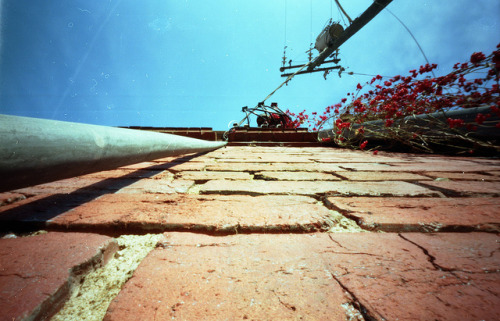 Pinhole: Mission Creep on Flickr.Abandoned building in Nashville (I'm still trying to find its history) Zero Image 69, Kodak Portra 160, about four seconds