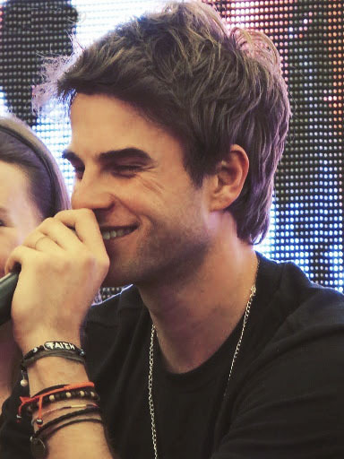 vampire-del:  Nathaniel Buzolic #Biteme in Paris 18-19 may