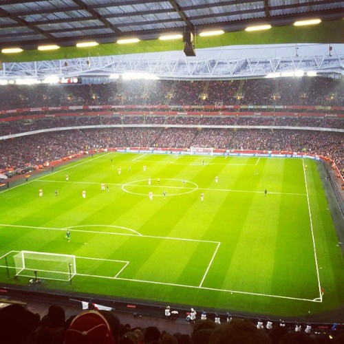 Top top night. #arsenal #afc #emirates #london (at Emirates Stadium)