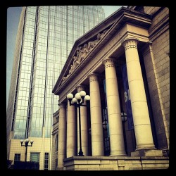 #Nashville #love. #schermerhorn #symphony #architecture #pinnacle #columns #city #cityscape #tennessee #happiness #music #livemusic #instagood #nashvillegram  (at Schermerhorn Symphony Center)