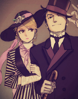 missturdle:   myu  early 1900s appropriate clothing on riza hawkeye is like damnnnnn