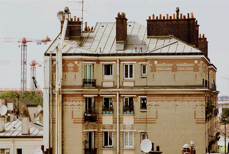| ♕ |  Chimneys in Paris  | by © Kristine May.