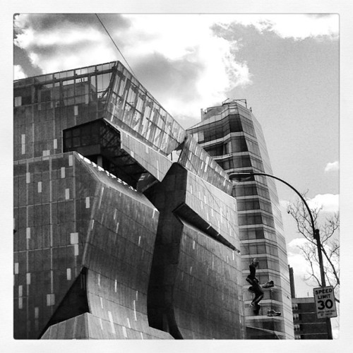 arig:  So many great buildings in NY (at The Cooper Union)