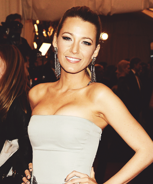 "Blake Lively attends the Costume Institute Gala for the ""PUNK: Chaos to Couture"""