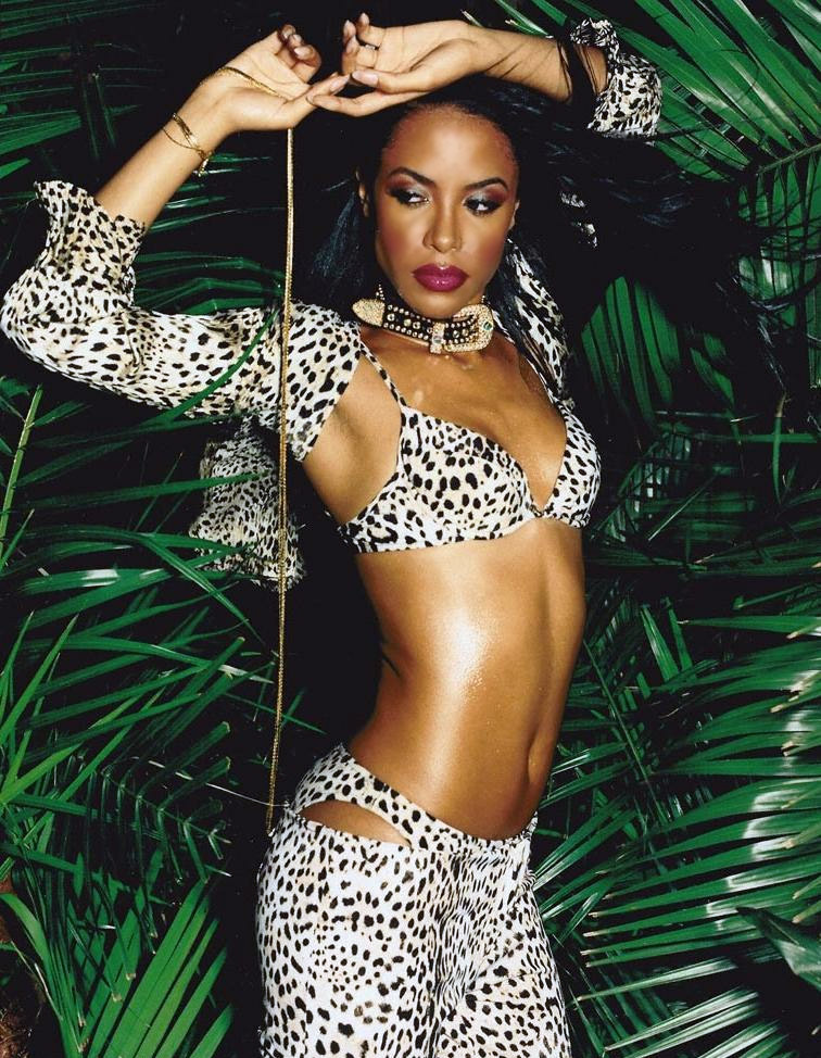 HAPPY BIRTHDAY AALIYAHwhite-naomi-campbell:  Aaliyah x David LaChapelle, Vibe (August 2001)