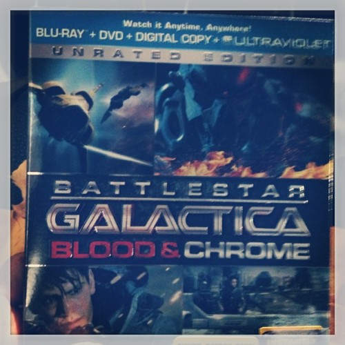 My night tonight. #bsg #battlestargalactica #bloodandchrome