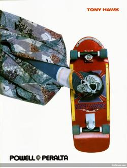 Deck of the Day | Powell & Peralta | Tony Hawk | Art by VCJ