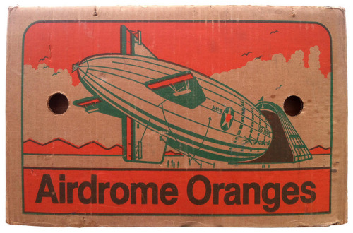 Airdrome Oranges by Unkee E. on Flickr.