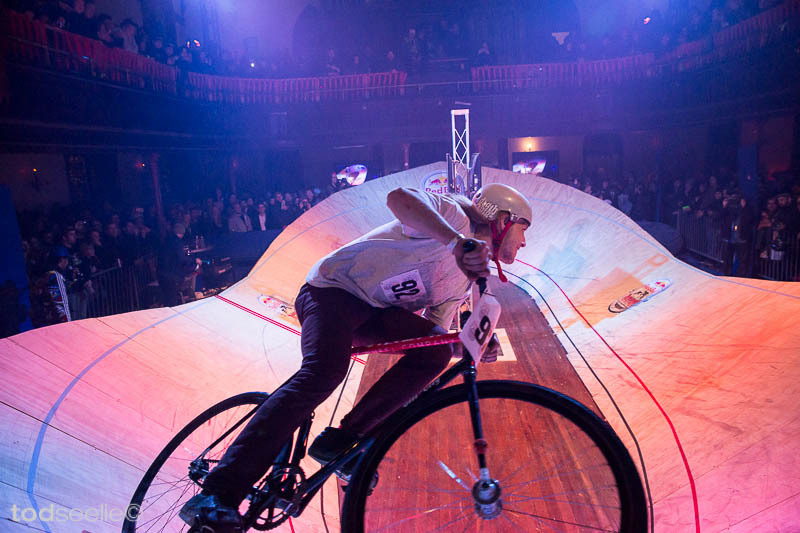 My photos from the Red Bull Mini Drome event in the abandoned Bushwick church are up now on Gothamist.