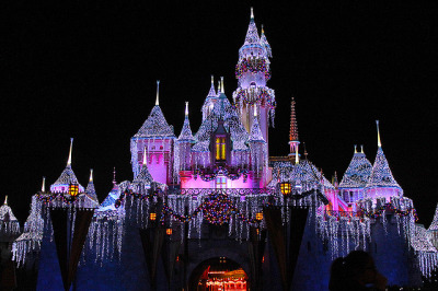Sleeping Beauty Castle - Snowfall on Flickr. Disneyland, I miss you so much!