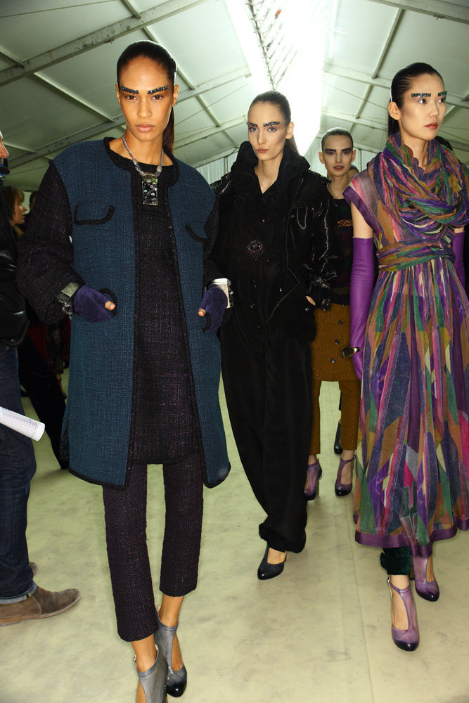 Chanel, fall 2012. More from Sonny Vandevelde's Paris fashion week photo diary.
